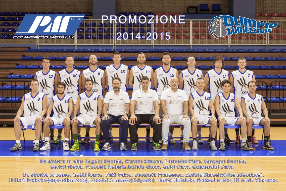 roster-olimpia-lumezzane-basket-2014-15